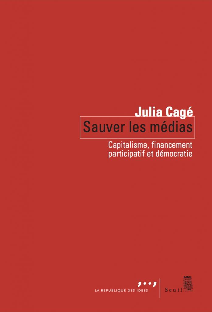 Sauver les médias, couverture du livre