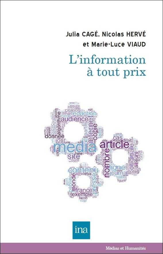Book Cover L'information à tout prix